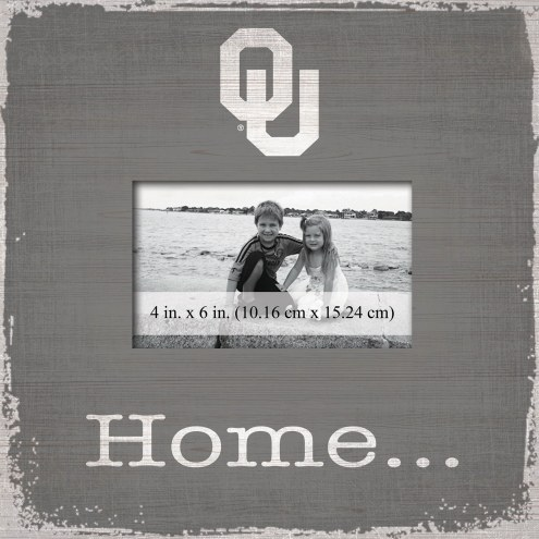 Oklahoma Sooners Home Picture Frame