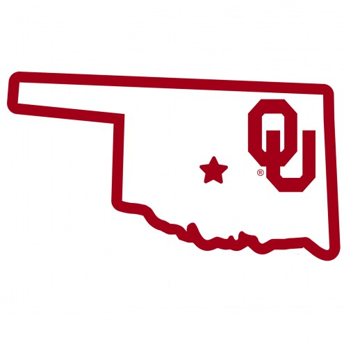 """Oklahoma Sooners Home State 11"""""""" Magnet"""