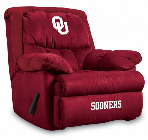Oklahoma Sooners Home Team Recliner