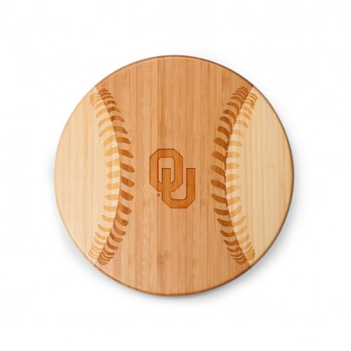 Oklahoma Sooners Homerun Cutting Board