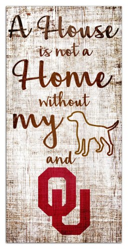 Oklahoma Sooners House is Not a Home Sign
