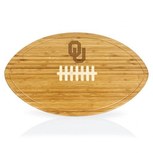 Oklahoma Sooners Kickoff Cutting Board