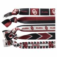 Oklahoma Sooners Knotted Hair Tie