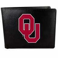Oklahoma Sooners Large Logo Bi-fold Wallet