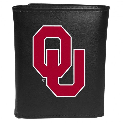 Oklahoma Sooners Large Logo Tri-fold Wallet