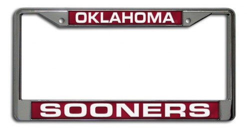Oklahoma Sooners Laser Cut License Plate Frame