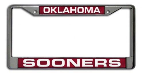 Oklahoma Sooners Laser Cut License Plate Frame