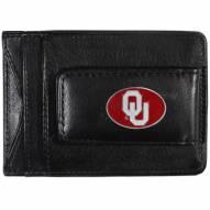 Oklahoma Sooners Leather Cash & Cardholder