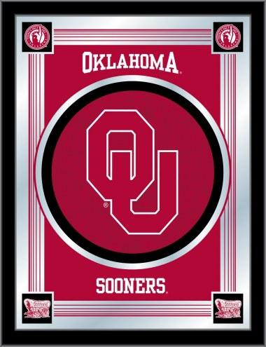 Oklahoma Sooners Logo Mirror