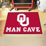 Oklahoma Sooners Man Cave All-Star Rug