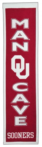 Oklahoma Sooners Man Cave Banner