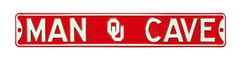 Oklahoma Sooners Man Cave Street Sign