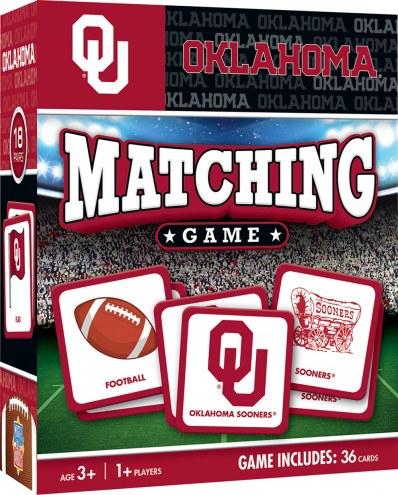 Oklahoma Sooners Matching Game