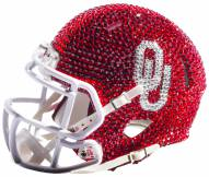 Oklahoma Sooners Mini Swarovski Crystal Football Helmet