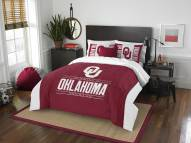 Oklahoma Sooners Modern Take Full/Queen Comforter Set