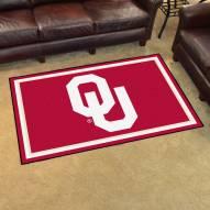 Oklahoma Sooners NCAA 4' x 6' Area Rug