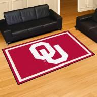 Oklahoma Sooners NCAA 5' x 8' Area Rug