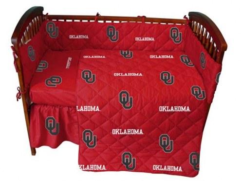 Oklahoma Sooners Baby Crib Set