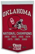 Winning Streak Oklahoma Sooners NCAA Football Dynasty Banner