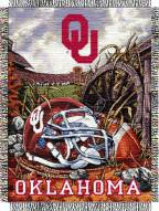 Oklahoma Sooners NCAA Woven Tapestry Throw / Blanket