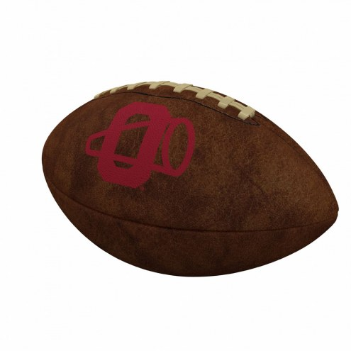 Oklahoma Sooners Official Size Vintage Football