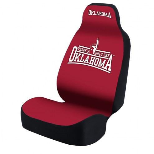 Oklahoma Sooners One Oklahoma Universal Bucket Car Seat Cover