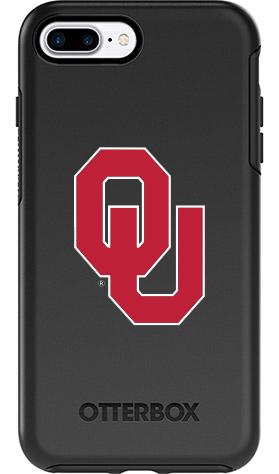 Oklahoma Sooners OtterBox iPhone 8 Plus/7 Plus Symmetry Black Case
