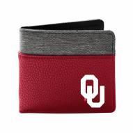 Oklahoma Sooners Pebble Bi-Fold Wallet
