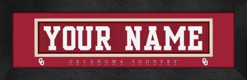 Oklahoma Sooners Personalized Stitched Jersey Print