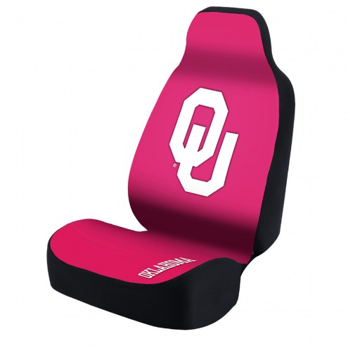 Oklahoma Sooners Pink Universal Bucket Car Seat Cover