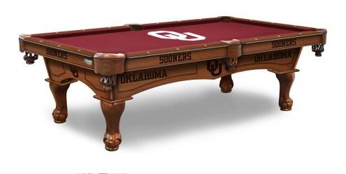 Oklahoma Sooners Pool Table