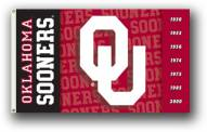 Oklahoma Sooners Premium 2-Sided 3' x 5' Flag