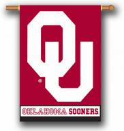 """Oklahoma Sooners Premium 28"""" x 40"""" Two-Sided Banner"""