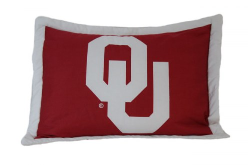 Oklahoma Sooners Printed Pillow Sham