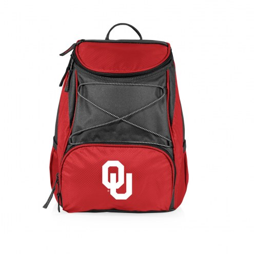 Oklahoma Sooners Red PTX Backpack Cooler