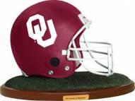 Oklahoma Sooners Collectible Football Helmet Figurine