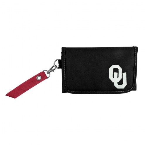 Oklahoma Sooners Ribbon Organizer Wallet