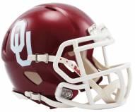Oklahoma Sooners Riddell Speed Mini Collectible Football Helmet