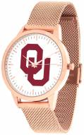 Oklahoma Sooners Rose Mesh Statement Watch