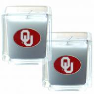 Oklahoma Sooners Scented Candle Set