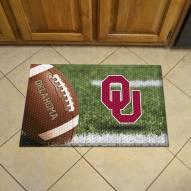 Oklahoma Sooners Scraper Door Mat