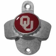 Oklahoma Sooners Wall Mounted Bottle Opener