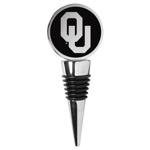 Oklahoma Sooners Wine Stopper