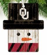 Oklahoma Sooners Snowman Ornament
