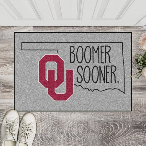 Oklahoma Sooners Southern Style Starter Rug