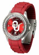 Oklahoma Sooners Sparkle Women's Watch