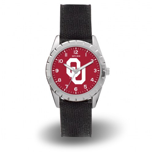 Oklahoma Sooners Sparo Men's Nickel Watch