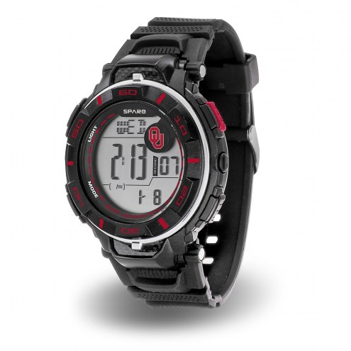Oklahoma Sooners Sparo Men's Power Watch