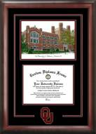 Oklahoma Sooners Spirit Graduate Diploma Frame