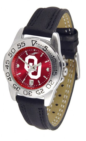 Oklahoma Sooners Sport AnoChrome Women's Watch